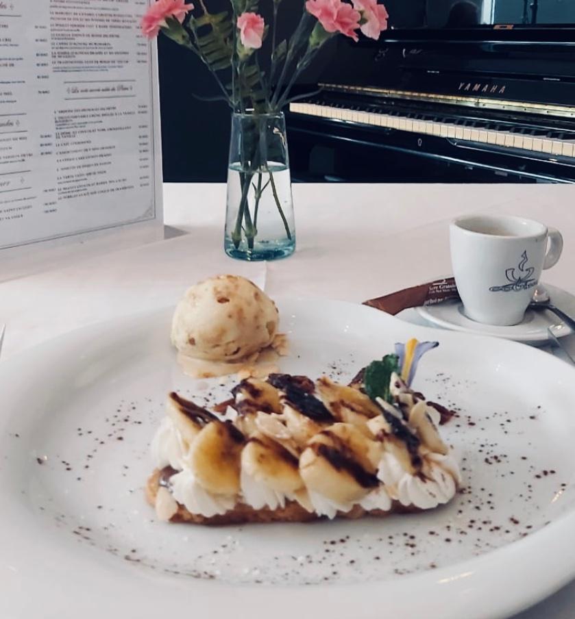 suggestion du chef dessert
